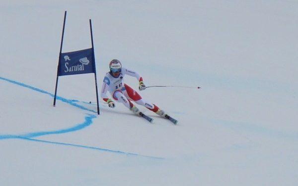 Schweizer Doppelsieg im ersten Super-G
