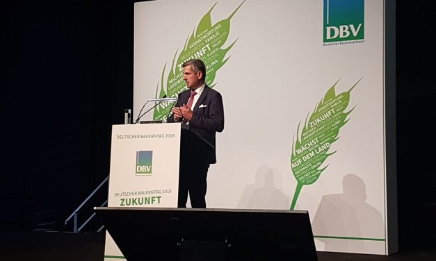 Dorfmann referiert beim Deutschen Bauerntag über EU- Agrarpolitik