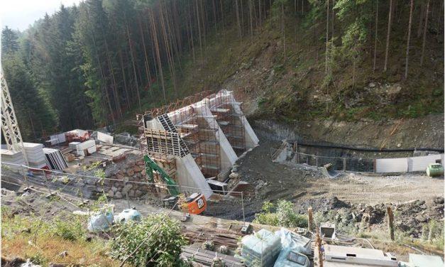 Hochwasserschutz Vahrn: Sperre am Schalderer Bach