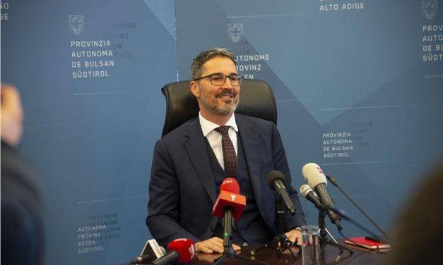 "Kompatscher eletto presidente: ""Legalità e umanità, valori fondanti"""