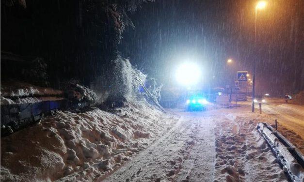 Neve in Alto Adige, disagi sulle strade