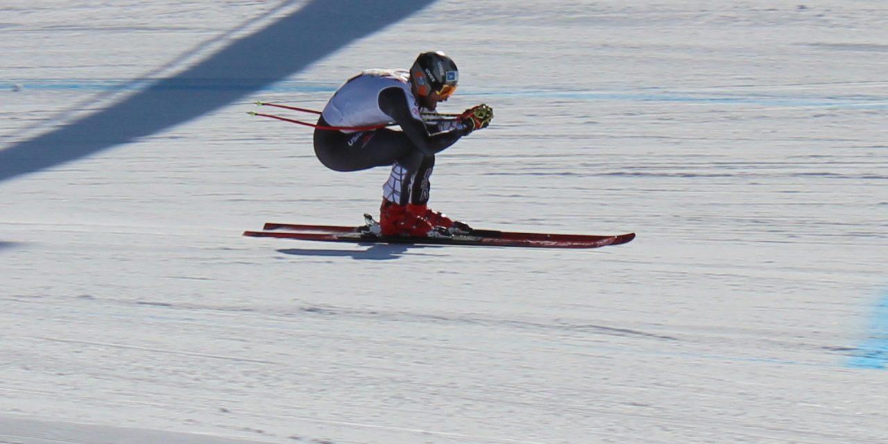 Europacup Reinswald: Biesemeyer gewinnt die Abfahrt, Brandner die Alpine Kombination