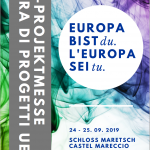 """""""L'Europa sei tu."""" – Invito alla fiera interattiva dei progetti finanziati dall'Unione europea il 24 e 25 settembre"""